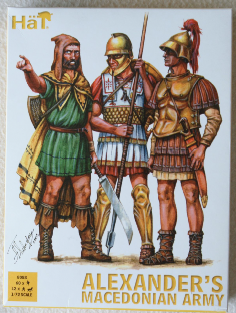 HaT 1/72 HAT8088 Alexander's Macedonian Army (Ancients)